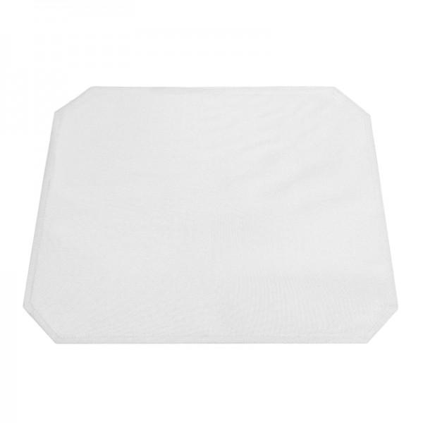 Tischsets Platzsets Uni 40x50 cm in Weiss