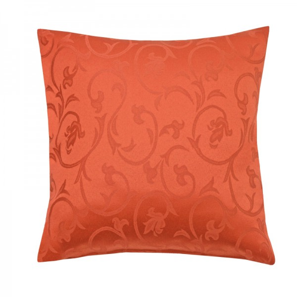 Kissenhülle Barock Sofa Kissen Deko in Orange