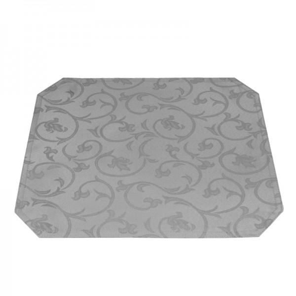 Tischsets Platzsets Barock 40x50 cm in Grau
