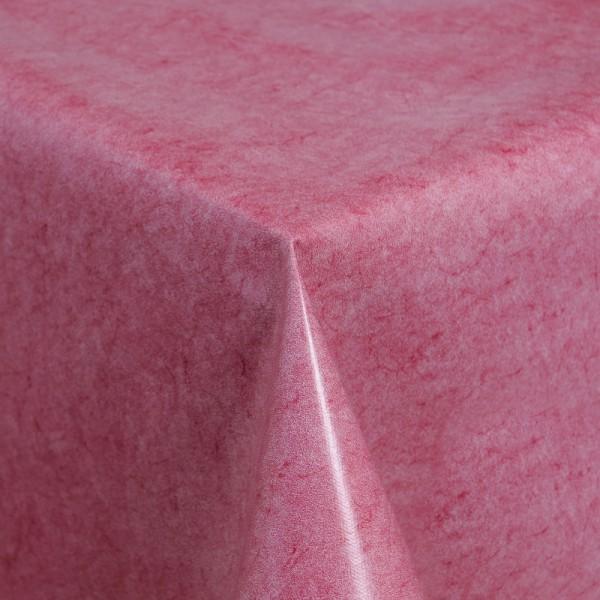 Tischdecke Abwaschbar Wachstuch Kirsch-Rot im Wunschmaß