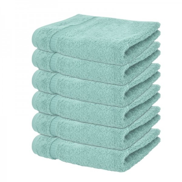"Badetuch ""Mailand"" in Mint im 4er Pack"