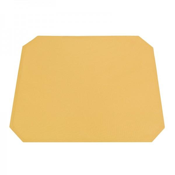 Tischsets Platzsets Uni 40x50 cm in Dunkel-Gelb