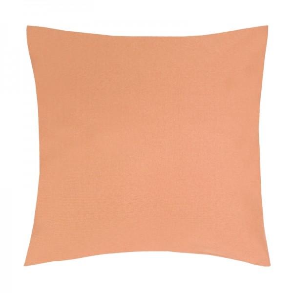Kissenhülle Uni Sofa Kissen Deko in Apricot