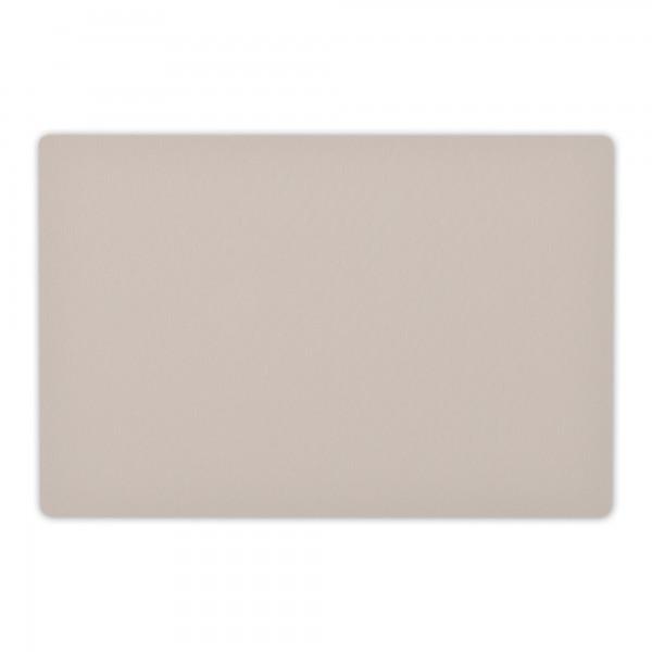 Tischsets UNI 6er-Set Baumwolle Platzsets 30x43 cm in Hell-Grau