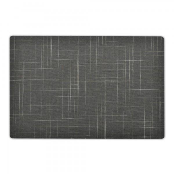 Tischsets Linien Motiv 6er-Set Platzsets 30x43 cm in Silbergrau