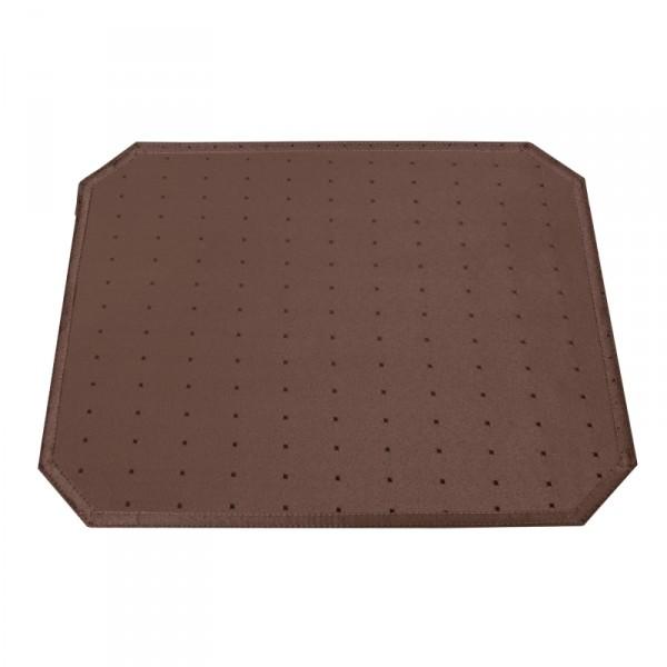 Tischsets Platzsets Punkte 40x50 cm in Dunkel-Braun