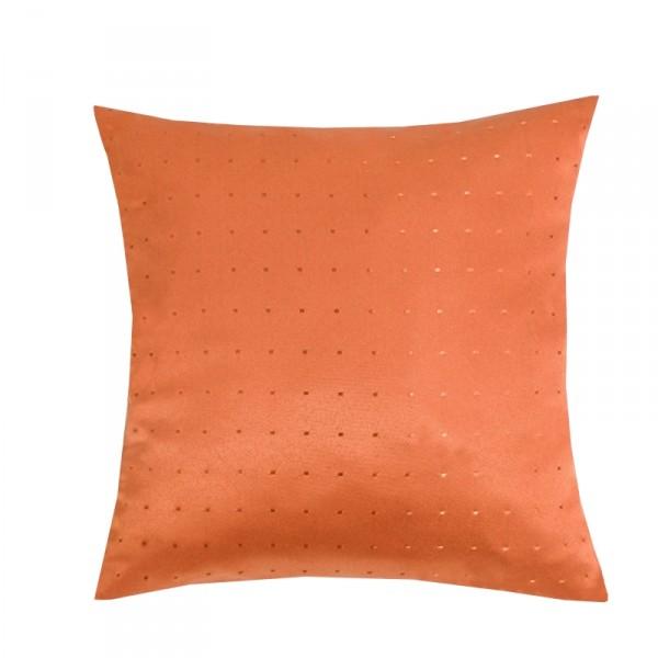 Kissenhülle Punkte Sofa Kissen Deko in Orange
