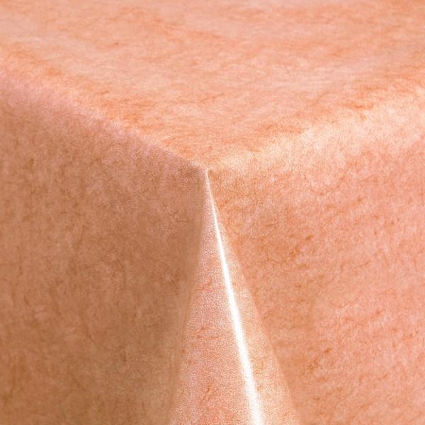 Tischdecke Abwaschbar Wachstuch Terra Orange im Wunschmaß