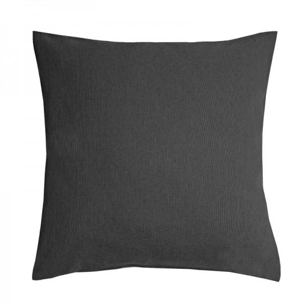 Kissenhülle Leinen-Optik Sofa Kissen Deko in Grau