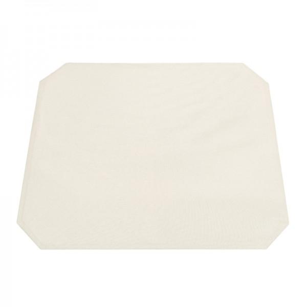 Tischsets Platzsets Uni 40x50 cm in Creme-Champanger