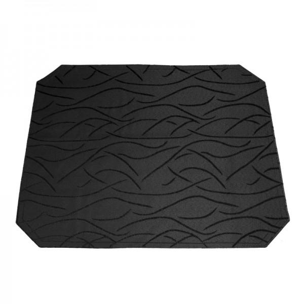 Tischsets Platzsets Streifen 40x50 cm in Schwarz