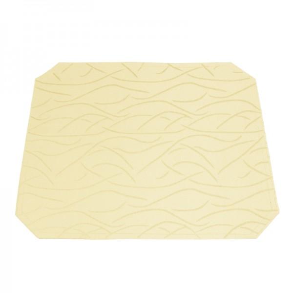 Tischsets Platzsets Streifen 40x50 cm in Creme-Beige