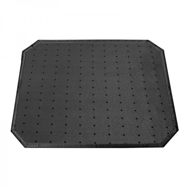 Tischsets Platzsets Punkte 40x50 cm in Schwarz