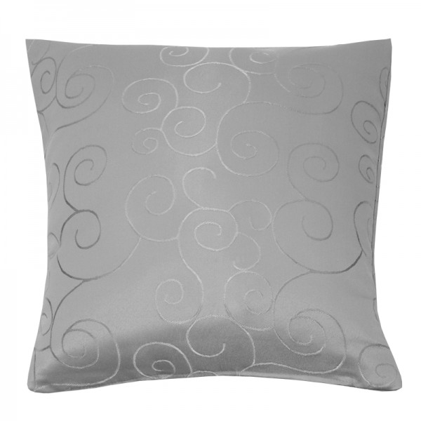 Kissenhülle Ornamente Sofa Kissen Deko in Grau