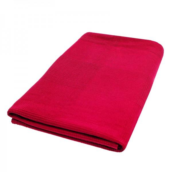 Tagesdecke Bettüberwurf Sofaüberwurf Baumwolle in Rot