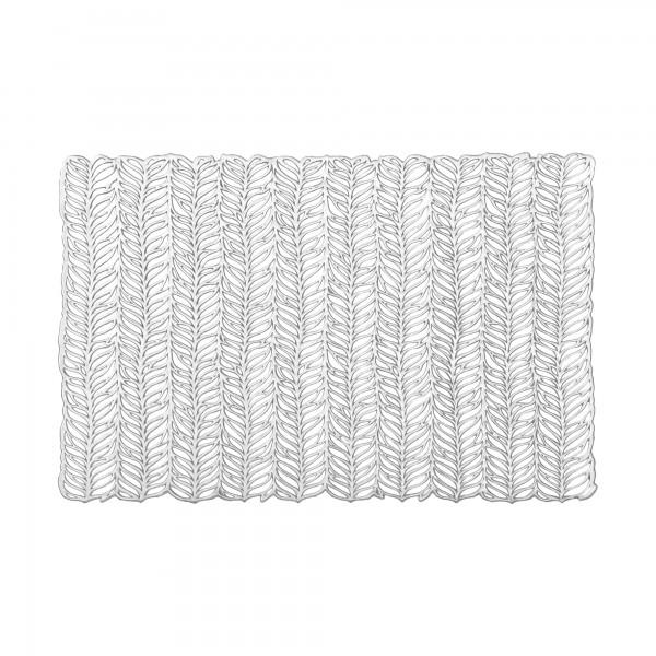 Tischsets 6er-Set Platzsets 30x45 cm Harmony im in Silber