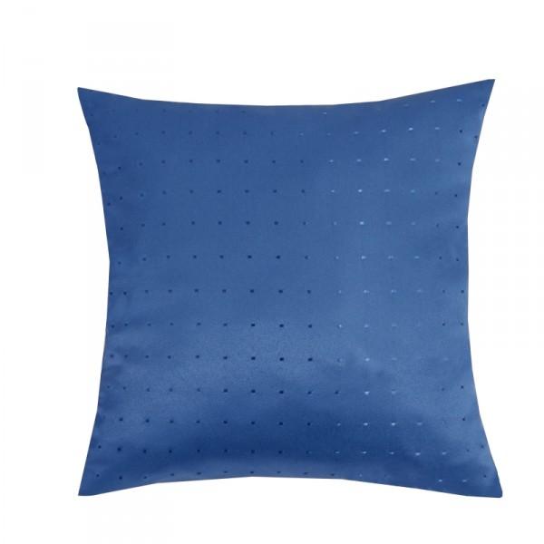 Kissenhülle Punkte Sofa Kissen Deko in Dunkel-Blau
