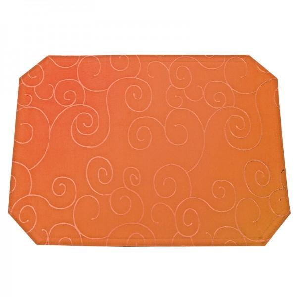 Tischsets Platzsets Ornamente 40x50 cm in Orange