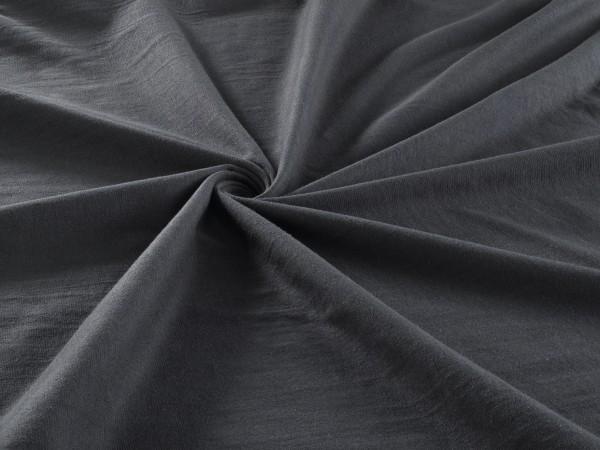 Spannbetttuch Jersey Stretch Steghöhe 28cm Spannbettlaken in Dunkel-Grau
