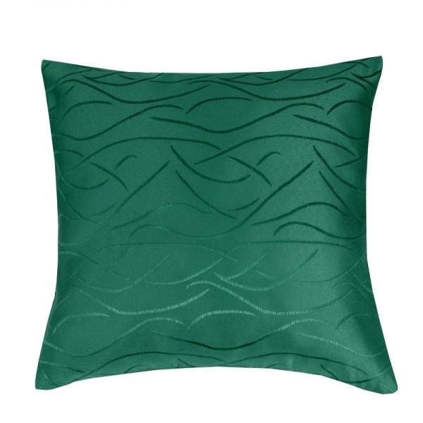 Kissenhülle Streifen Sofa Kissen Deko in Dunkel-Grün