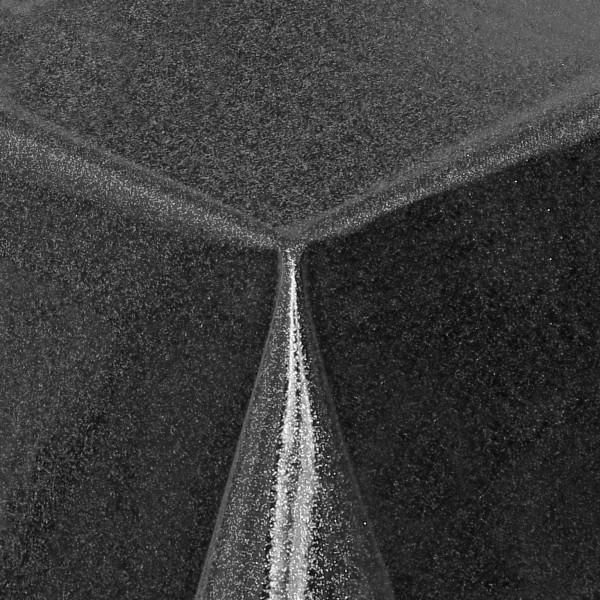 Schutz Tischdecke transparent Glitter-Folie mit Metallic-Farbpigmenten in Silber