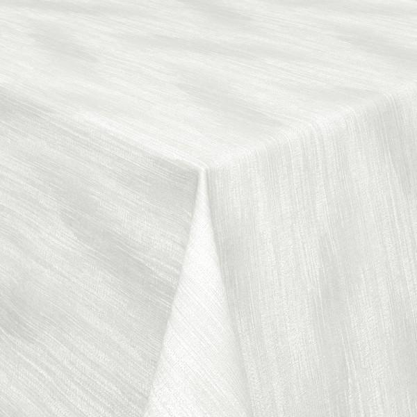 Tischdecken Wisch-Optik Jaquard-Gewebe mit Fleckschutz in Grau
