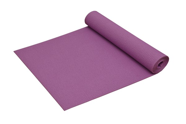 Yogamatte Basic rutschfest phthalatfrei Made in Germany in Lila