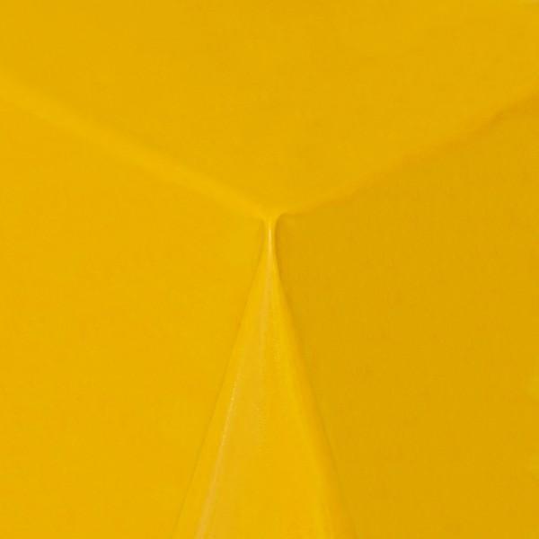 Tischdecke Abwaschbar Wachstuch Lebensmittelecht einfarbig Gelb