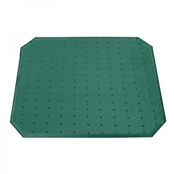 Tischsets Platzsets Punkte 40x50 cm in Dunkel-Grün
