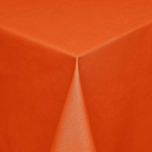 Tischdecken Modena Baumwolle mit Teflon-Fleckschutz in Orange