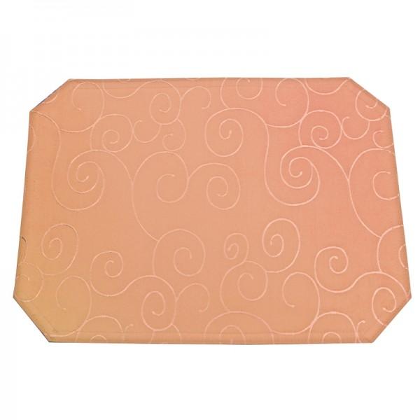 Tischsets Platzsets Ornamente 40x50 cm in Apricot