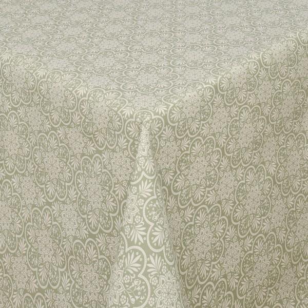 Tischdecken Savona Baumwolle Oriental mit Fleckschutz in Blau