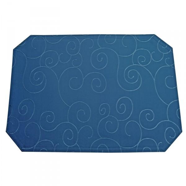 Tischsets Platzsets Ornamente 40x50 cm in Dunkel-Blau