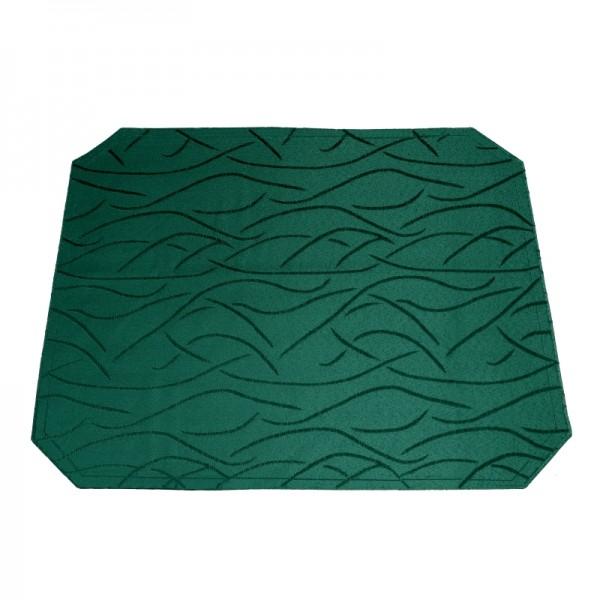Tischsets Platzsets Streifen 40x50 cm in Dunkel-Grün