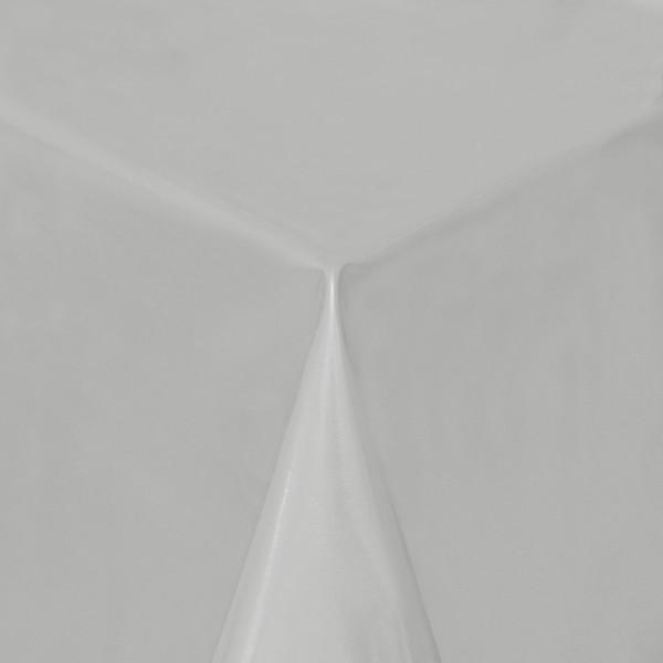 Tischdecke Abwaschbar Wachstuch Lebensmittelecht einfarbig Grau