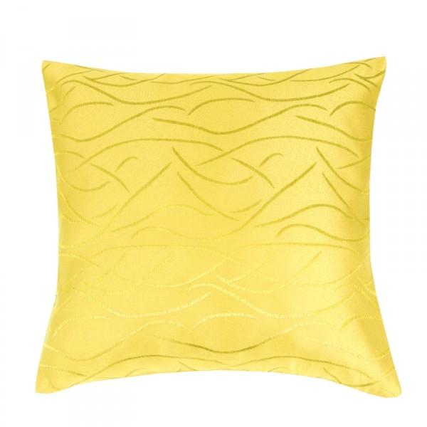 Kissenhülle Streifen Sofa Kissen Deko in Dunkel-Gelb