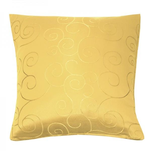 Kissenhülle Ornamente Sofa Kissen Deko in Dunkel-Gelb