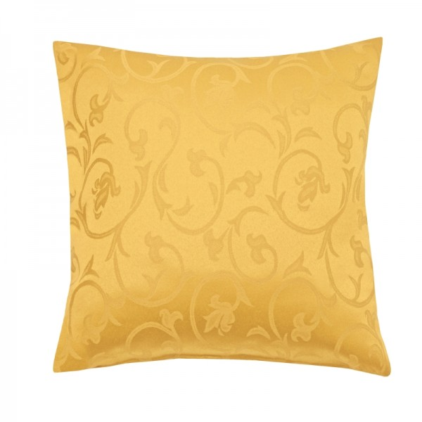 Kissenhülle Barock Sofa Kissen Deko in Dunkel-Gelb