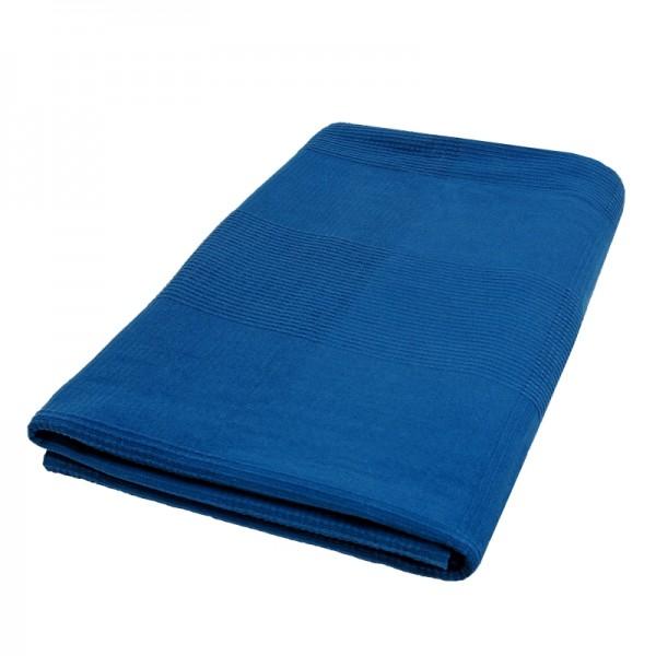 Tagesdecke Bettüberwurf Sofaüberwurf Baumwolle in Blau