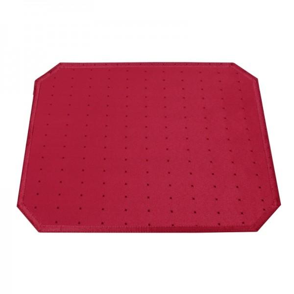 Tischsets Platzsets Punkte 40x50 cm in Wein-Rot