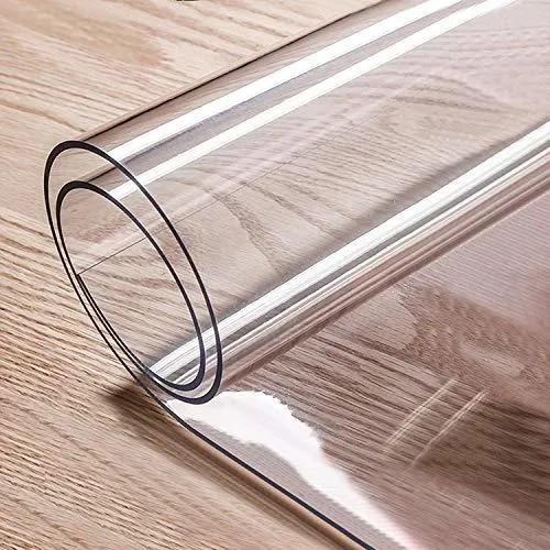 Tischdecke Tischschutz 120 cm breit transparente Folie 2 mm Made in Germany
