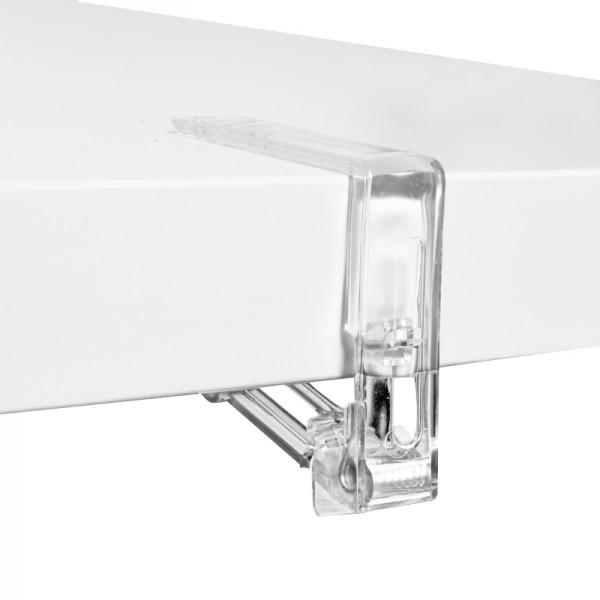 Tischdeckenklammern Tischtuchhalter Transparent 4er Set