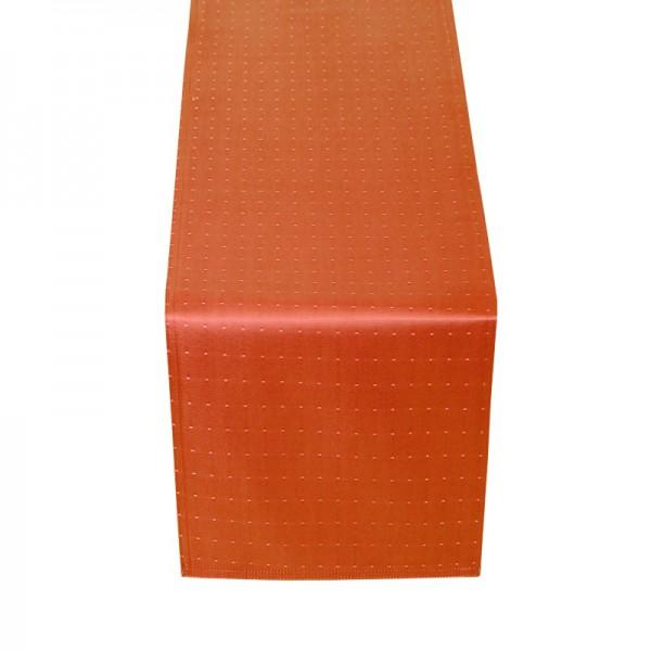 Tischläufer Tischband Punkte in Orange