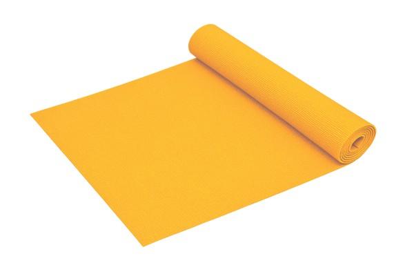 Yogamatte Basic rutschfest phthalatfrei Made in Germany in Gelb