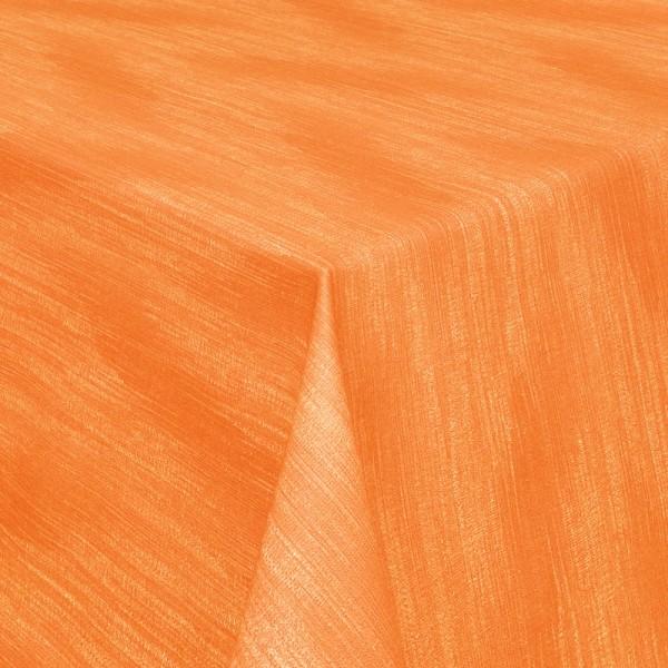 Tischdecken Wisch-Optik Jaquard-Gewebe mit Fleckschutz in Terra