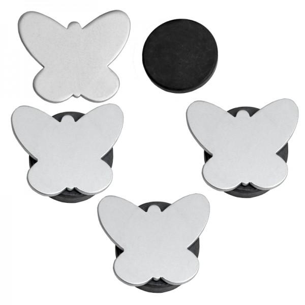 Tischdeckenbeschwerer Schmetterlinge Motiv mit Magnet 4er Set