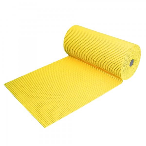 Bodenbelag Neapel Weichschaum Badematte Matte Meterware Gelb