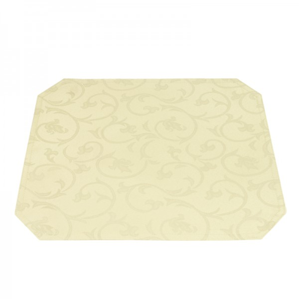 Tischsets Platzsets Barock 40x50 cm in Creme-Beige