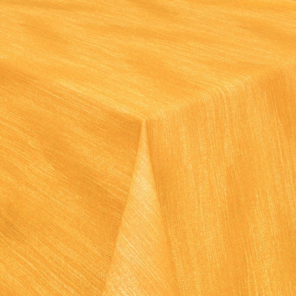 Tischdecken Wisch-Optik Jaquard-Gewebe mit Fleckschutz in Gelb
