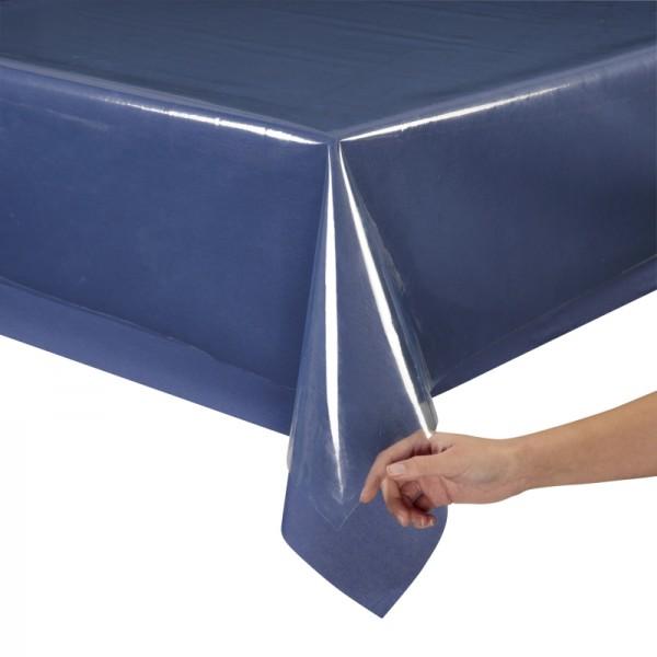 Schutz Tischdecke transparent 140cm breit durchsichtig Meterware 0,20mm stark
